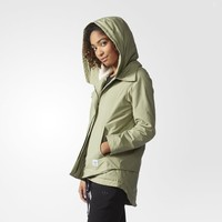 adidas Winterized Cotton Jacket - Green | adidas US