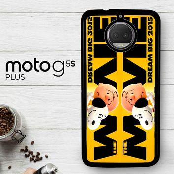 Snoopy And Charlie Brown The Peanuts 2015 Movie V 2104  Motorola Moto G5S Plus Case