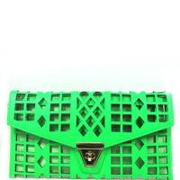 ChainCandy Laser cut Chain strap Clutch