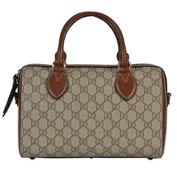 GON8C Gucci. Boston Women Canvas Bag