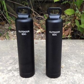 Super Strong Outdoor Survival Waterproof Tank Medicine Pill Bottles Mini EDC Box for Storage Cigarette Matches Camping Gear