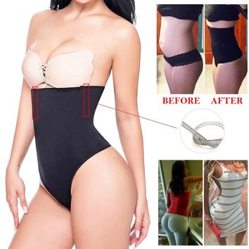 172bf784ab3a Miss Moly Women Shapewear High Waist Tummy Control Body Shaper S