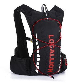 Running Vests Jogging Waterproof Polyester Men Women Trail Running Backpack Outdoor Sports Marathon Vest Pack Fishing Mochila Cycling Bicycle Bike Bag KO_11_1