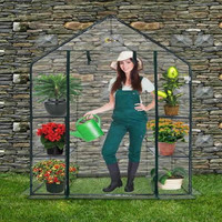Ogrow Deluxe WALK-IN CLEAR GREENHOUSE