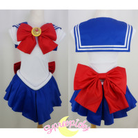 Cosplay Sailor Moon Usagi Transformer Senshi Uniform Set Custom Free Ship SP140895 from SpreePicky