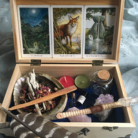 Magic Starter Kit, Magic Kit, Magic Sampler, Witch's Kit, Witch's Box, Witch's Toolbox