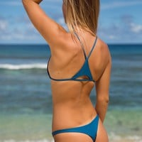 ACACIA Swimwear 2018 Pipeline Bottom in Salt Water