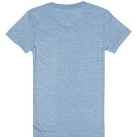 I Heart Hillbillys-Female Athletic Blue T-Shirt