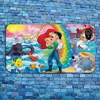 Cute Rainbow Romantic Disney Little Mermaid Phone Case iPhone Cover Girly Girl