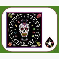 """Day of Dead"" Spirit Board"