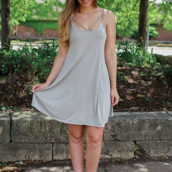 Coast to Coast Dress - Sage