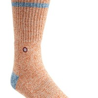 Men's Stance 'Webb' Solid Socks - Orange