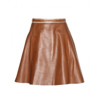 Larissa leather skirt