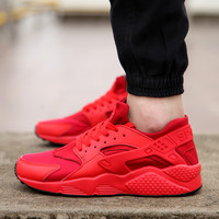 Custom Sport Red Huarache Run