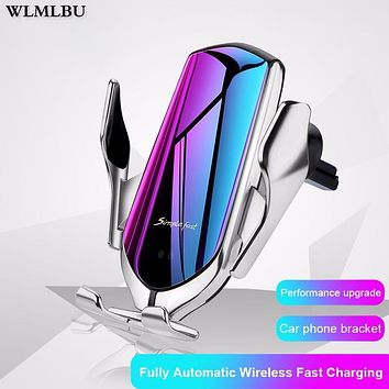 Automatic Clamping Fast Charging Phone Holder
