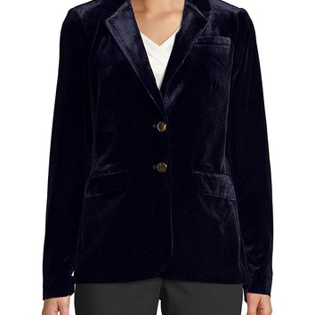 Velvet Button Jacket/Coat/Cardigans