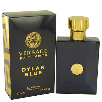 Versace Pour Homme Dylan Blue Travel Spray By Versace