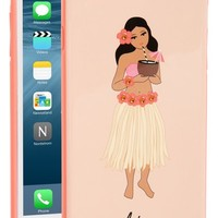 kate spade new york 'hula girl' iPhone 6 Plus & 6s Plus case | Nordstrom