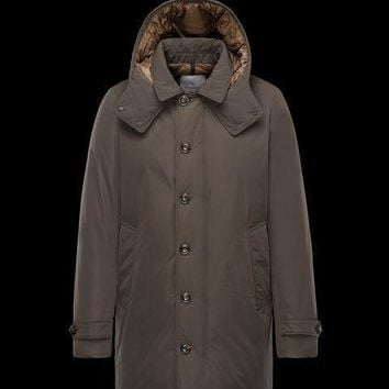 Moncler Men Arriette Fur-Trim Puffer Coat