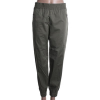 Marc by Marc Jacobs Womens Samantha Twill Studded Casual Pants