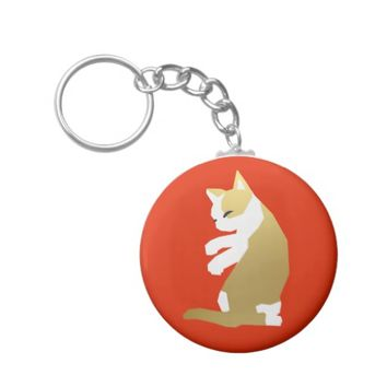 Fortune Cat (Chinese New Year) Keychain
