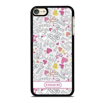 COACH POPPY COLOR iPod Touch 6 Case Cover