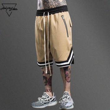 Streetwear Multi Color Joggers Shorts