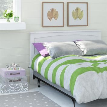 Altra Federal White Full/ Queen Headboard | Overstock.com Shopping - The Best Deals on Headboards