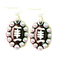 Football Luxe Earrings-Sookie Sookie