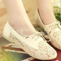 Vintage Mandy Lace  Shoes from sniksa