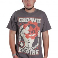 Crown The Empire - Fist'10 Charcoal - T-Shirt