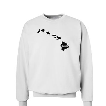 Hawaii - United States Shape Sweatshirt by TooLoud