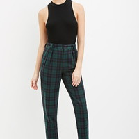 Tartan Plaid Trousers