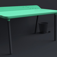 TRMNL Desk by CreativeSession - Workspace for the Digital Nomad - Homeli
