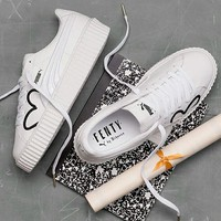 Puma Fenty CLF Creep Women Fashion Platform Flats Shoes