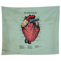 The Human Heart Tapestry