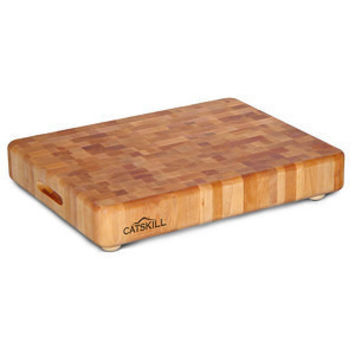 Hardwood Chopping Block with Feet