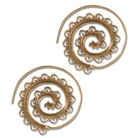 NEW! Harmony Spiral Earrings
