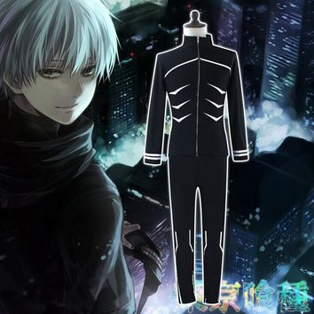 Tokyo Ghoul Hoodies Kaneki Ken Cosplay Costumes Women Men Short & Long Sleeve Tops + Pants Sets Casual Unisex Clothing Suits