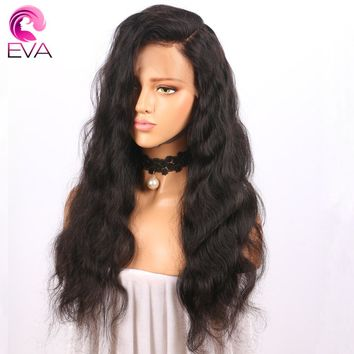 Eva Hair Pre Plucked Full Lace Human Hair Wigs With Baby Hair Natural Color Brazilian Body Wave Remy Hair Wigs For Black Women
