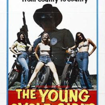 Young Cycle Girls The Movie Poster 24x36