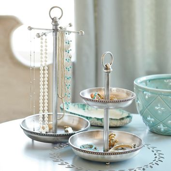 Sophia Jewelry Dish & Necklace Stand
