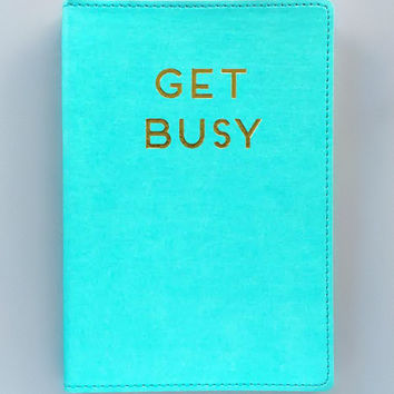 Get Busy Journal