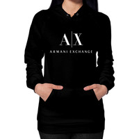 Armani Exchange Hoodie (on woman)
