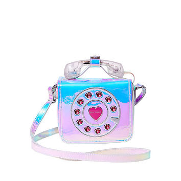CALLING ALL GIRLFRIENDS PHONE CROSSBODY: Betsey Johnson