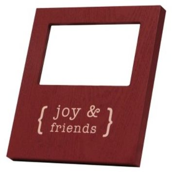 Recordable Frame 4x6 Red - Joy & Friends