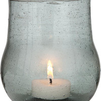 Recycled Glass Vase and Candle Holder (bell bottom)
