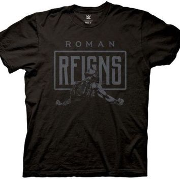 8db1fc97e835d4 WWE Roman Reigns Primal Scream Wrestling Licensed Adult T Shirt