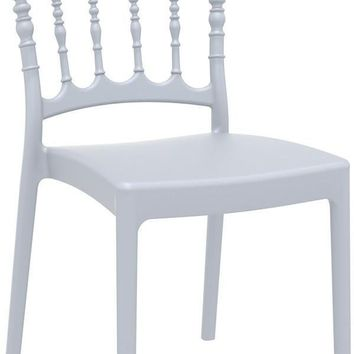 Napoleon Dining Chair Silver (Set of 2)