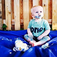 Green boys 1st birthday shirt with navy one 1st Birthday photography kids birthday theme first party